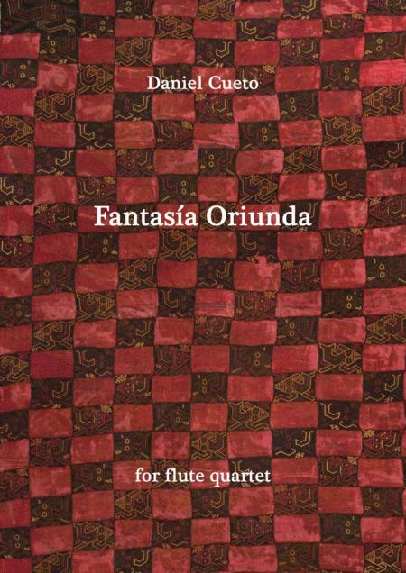 FANTASIA ORIUNDA for flute quartet