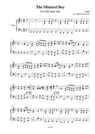 The Minstrel Boy - harp solo