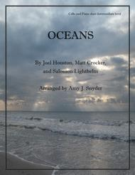 Oceans (Where Feet May Fail), cello and piano duet