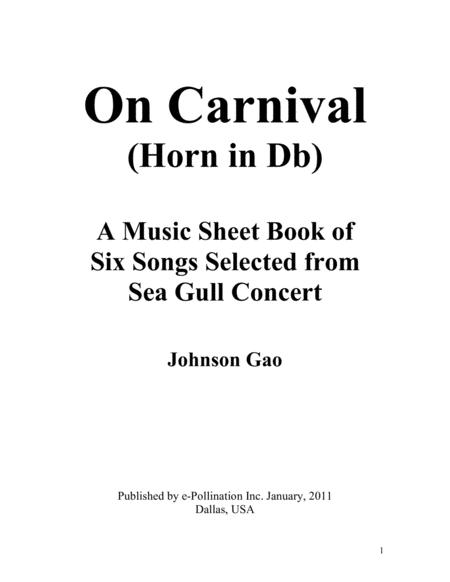 Music sheets of