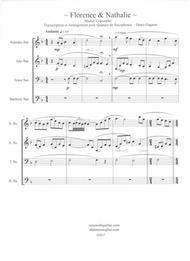 Florence & Nathalie (Quatuor de saxophones)