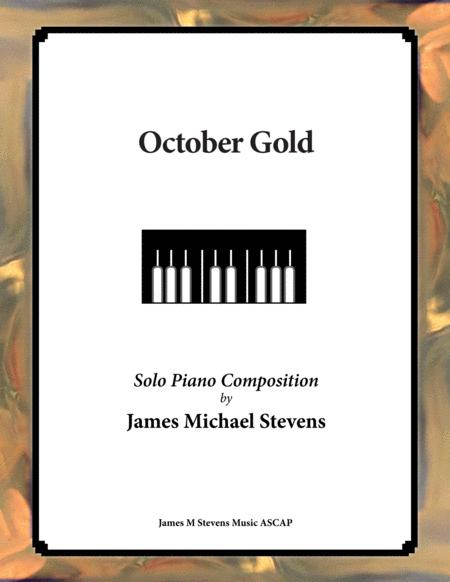 October Gold (Reflective Piano)