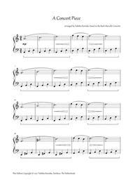 A Concert Piece
