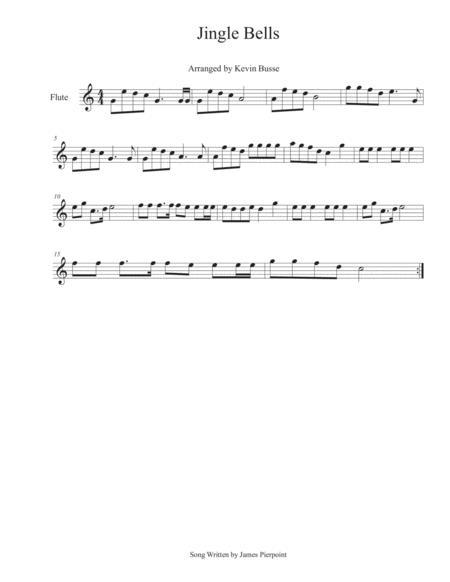 Jingle Bells - Flute