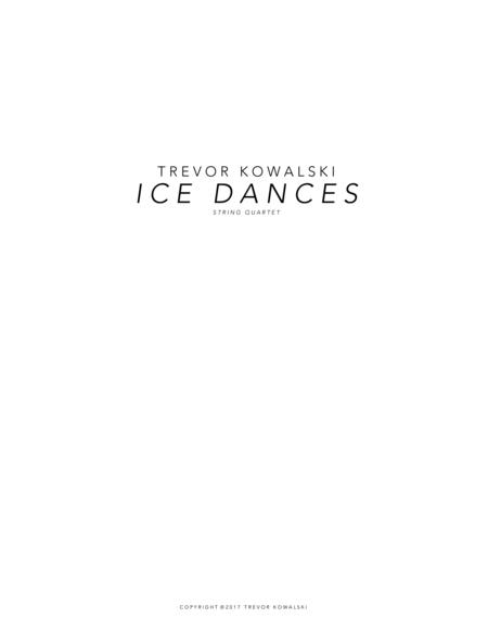 Ice Dances (string quartet)