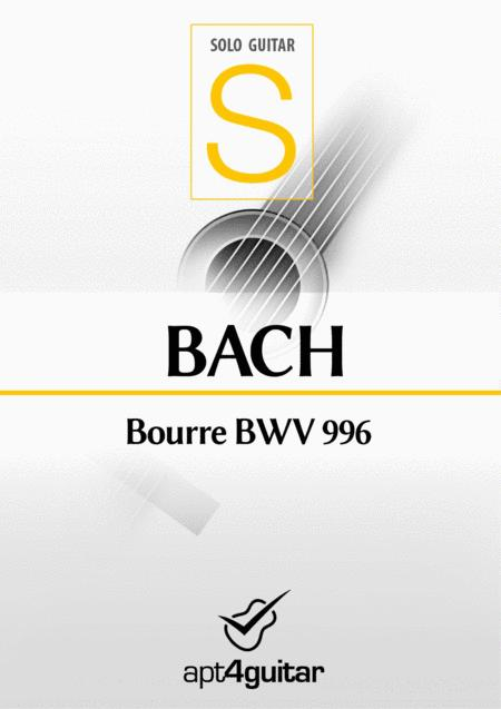 Bourre BWV 996