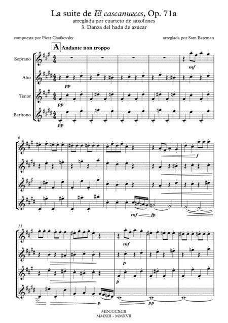La suite de El cascanueces - 3. Danza del hada de azúcar