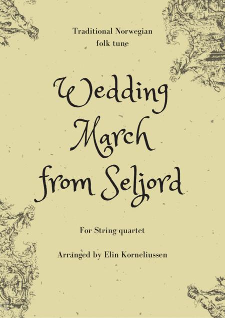 Wedding March from Seljord - traditional tune from Norway for string quartet