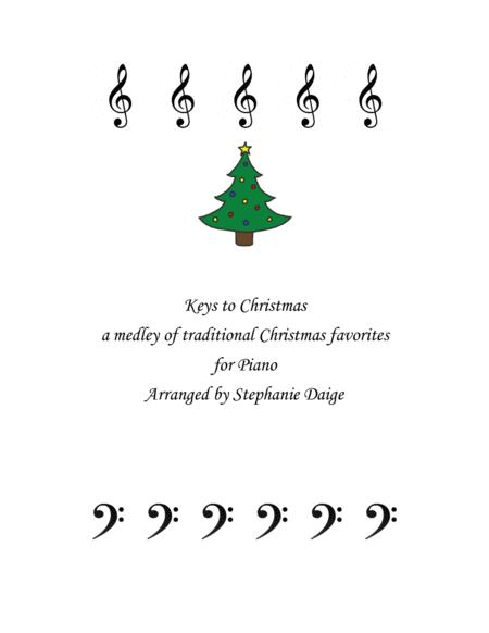 Keys to Christmas Medley for Piano