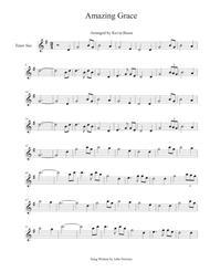 Amazing Grace - Tenor Sax