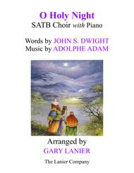 O HOLY NIGHT (SATB Choir with Piano - Score & Choir Part included)