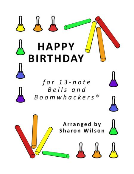 Happy Birthday for 13-note Bells and Boomwhackers®