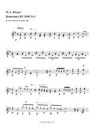Country Dance KV 269b no.1