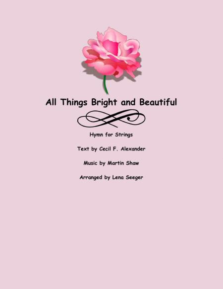All Things Bright and Beautiful (violin quartet)