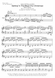 < Short EZ Piano #146 > Getting' In The Mood (For Christmas) (Brian Setzer)