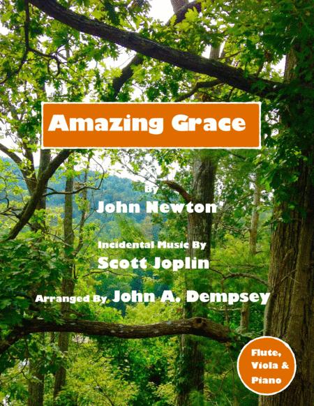 Amazing Grace / The Entertainer (Trio for Flute, Viola and Piano)