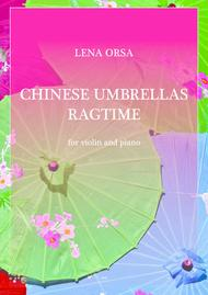 Chinese Umbrellas Ragtime for violin and piano
