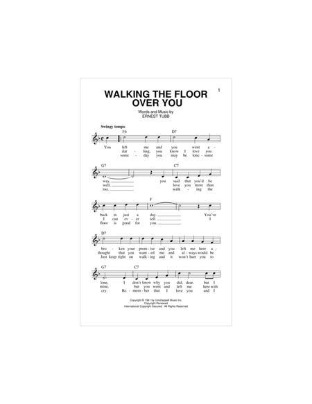 Walking The Floor Over You