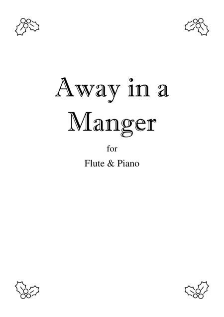 Away In A Manger - Flute solo