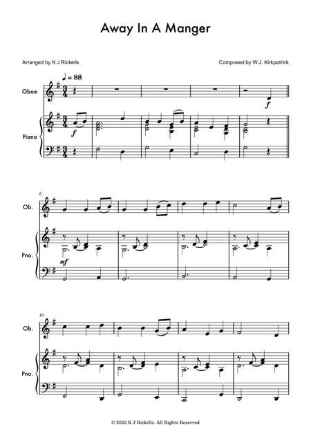 Away In A Manger - Oboe Solo