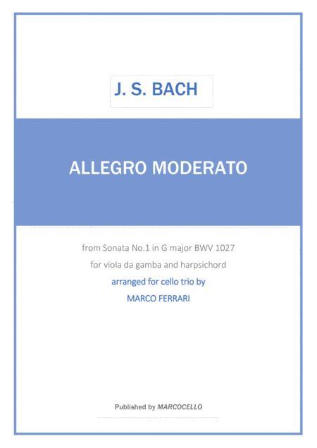 J.S. BACH - Allegro moderato