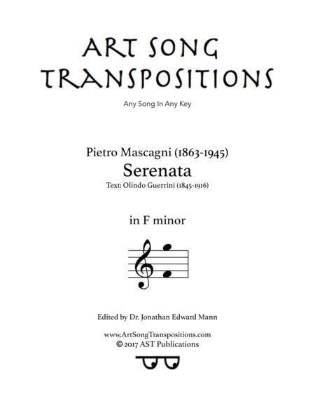 Serenata (F minor)