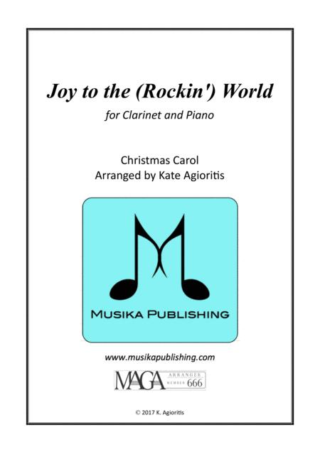Joy to the (Rockin') World - Clarinet and PIano