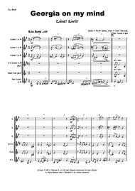 Georgia on my mind - Ray Charles - Clarinet Quintet