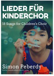 Kirchenlieder für Kinderchor - Collection of Church songs for children's choir (in German) by Simon Peberdy