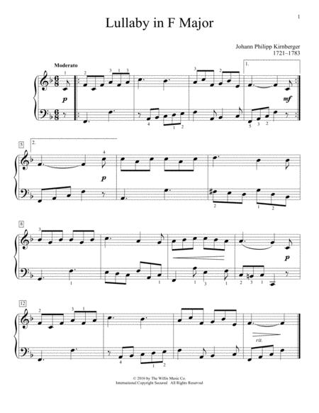 Lullaby In F Major