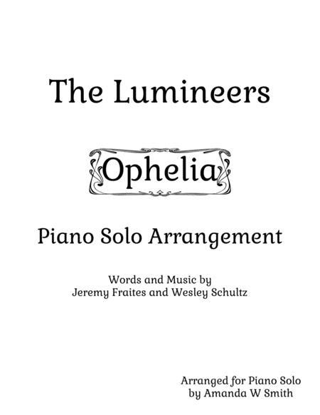 Ophelia Intermediate Piano Solo