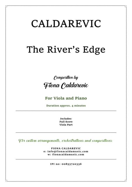 The River's Edge. For viola and piano.