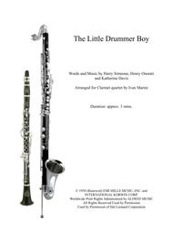 The Little Drummer Boy - Clarinet Quartet