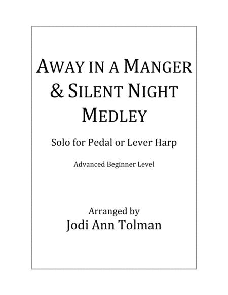 Away in a Manger & Silent Night Medley, Harp Solo