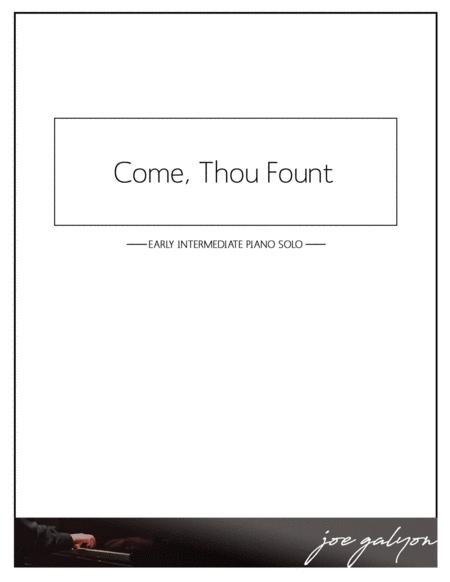 Come, Thou Fount