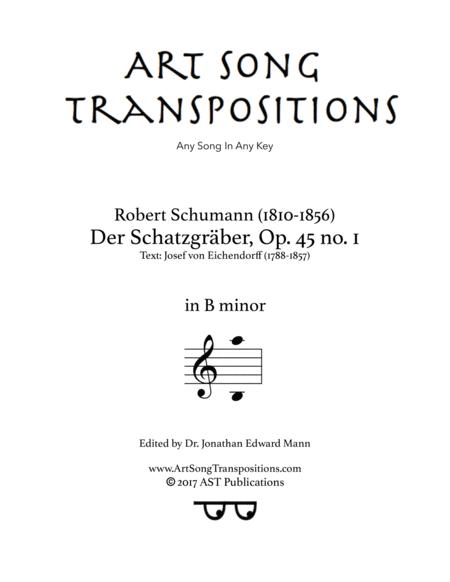 Der Schatzgräber, Op. 45 no. 1 (B minor)