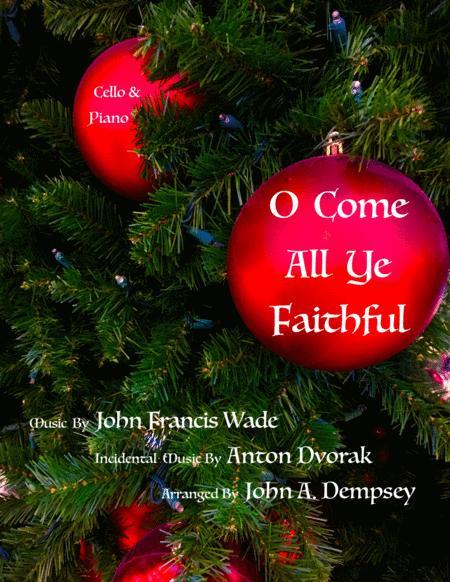 O Come All Ye Faithful (Cello and Piano Duet)