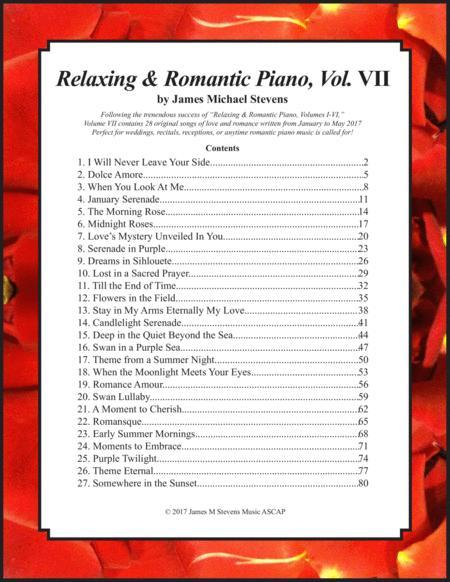 Relaxing & Romantic Piano, Vol. VII