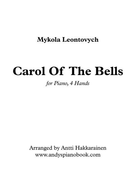 Carol Of The Bells - Piano, 4 Hands
