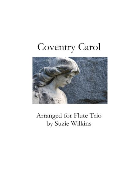 Coventry Carol for Flute Trio