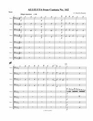 Alleluia from Cantata No. 142 for 8 Trombones