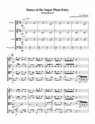 Dance of the Sugar Plum Fairy from Nutcracker String Quartet