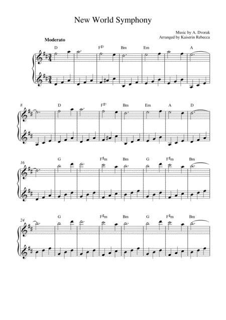 New World Symphony (Music box version)