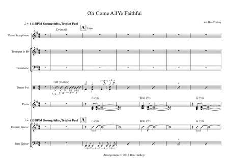 Oh Come All Ye Faithul - Contemporary Arrangement