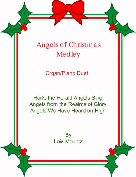 Angels of Christmas piano/organ duet