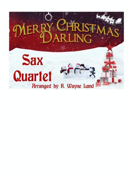 Merry Christmas, Darling (Sax Quartet - Optional Vocal)