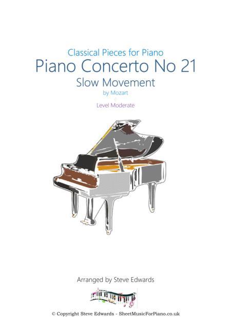 Piano Concerto No 21 - Slow Movement