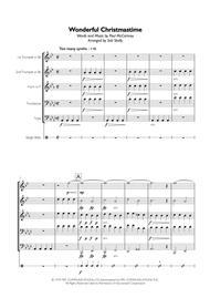Paul McCartney - Wonderful Christmastime for Brass Quintet