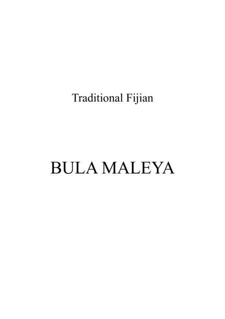 Bula Maleya / Vocal