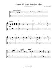 Angels We Have Heard on High - for 3-octave handbell choir